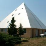 Pyramida boční pohled